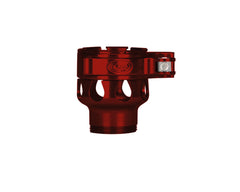 Custom Products CP Spyder VS1, VS2, VS3, RS, & RSX Clamping Feed Neck - Red