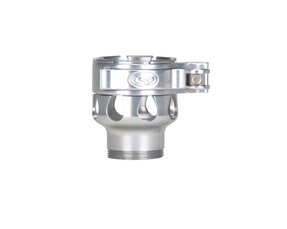 Custom Products CP Spyder VS1, VS2, VS3, RS, & RSX Clamping Feed Neck - Silver