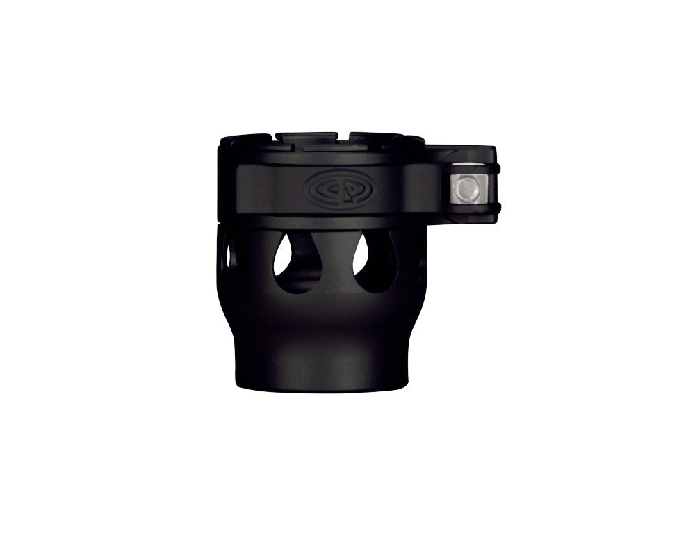 Custom Products CP Alias Intimidator Clamping Feed Neck - Dust Black