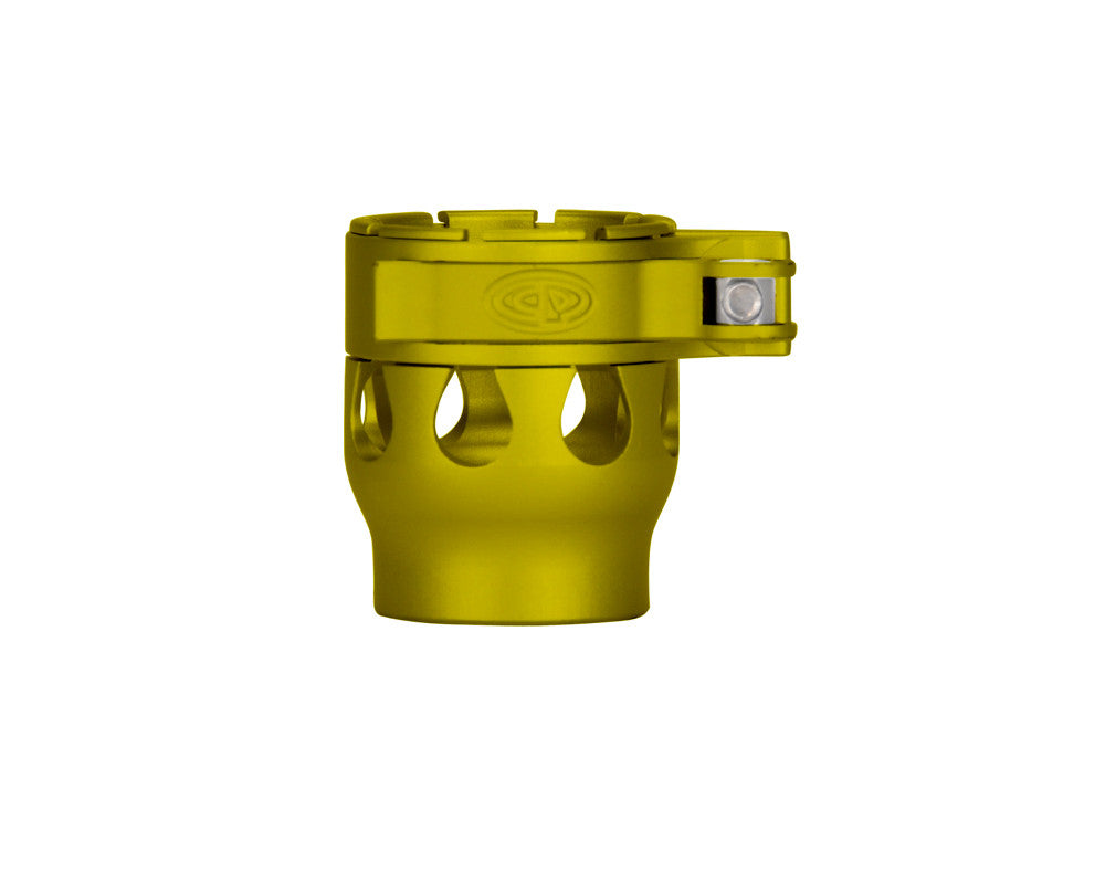 Custom Products CP Alias Intimidator Clamping Feed Neck - Dust Yellow