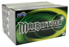 Marballizer Paintballs Case 500 Rounds - Green Fill