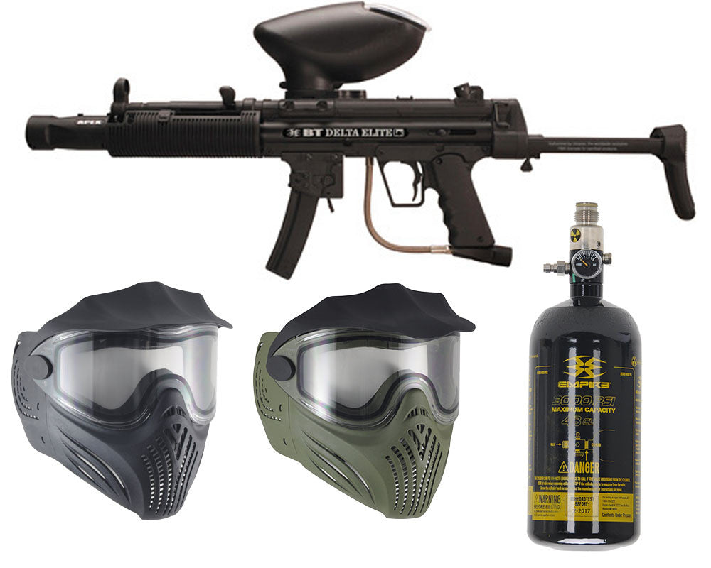 Empire Delta Elite & Thermal Helix Mask w/ Free 47/3000 Air Tank