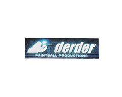 Der Der Productions Sticker - Blue