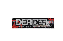 DerDer Star Sticker - Black