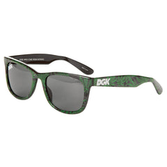DGK Classic Home Grown - Black/Green - Sunglasses