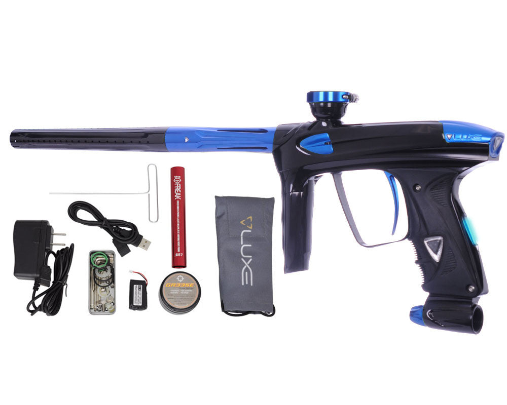 DLX Luxe 2.0 OLED Paintball Gun - Black/Blue