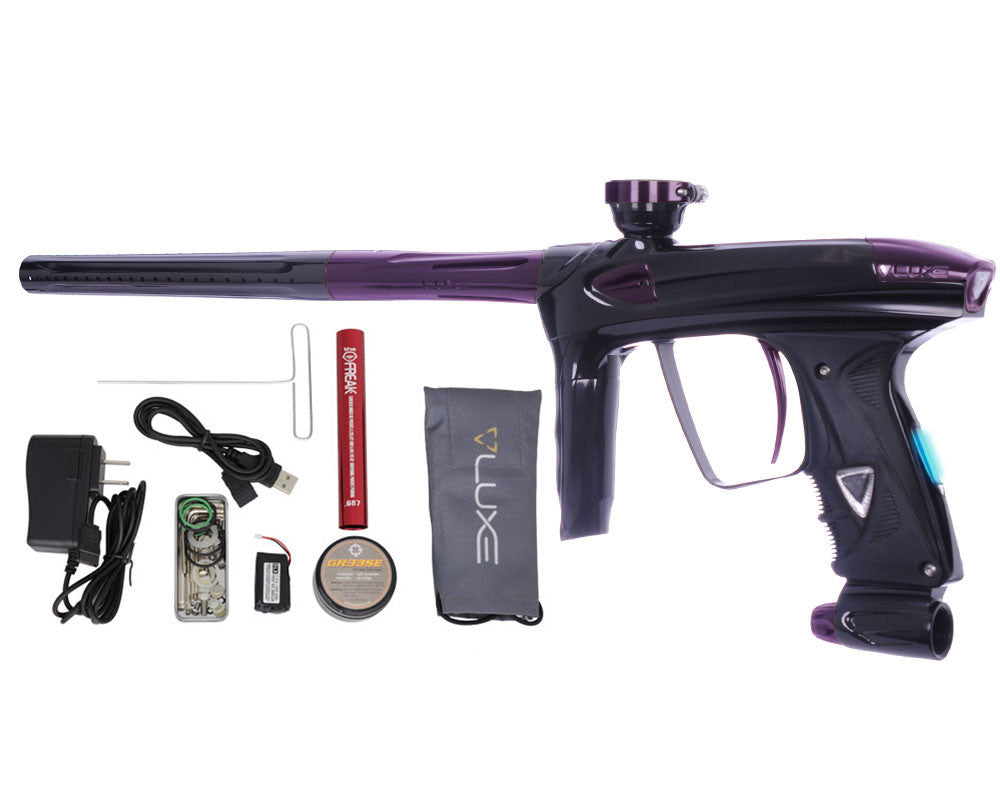 DLX Luxe 2.0 OLED Paintball Gun - Black/Eggplant
