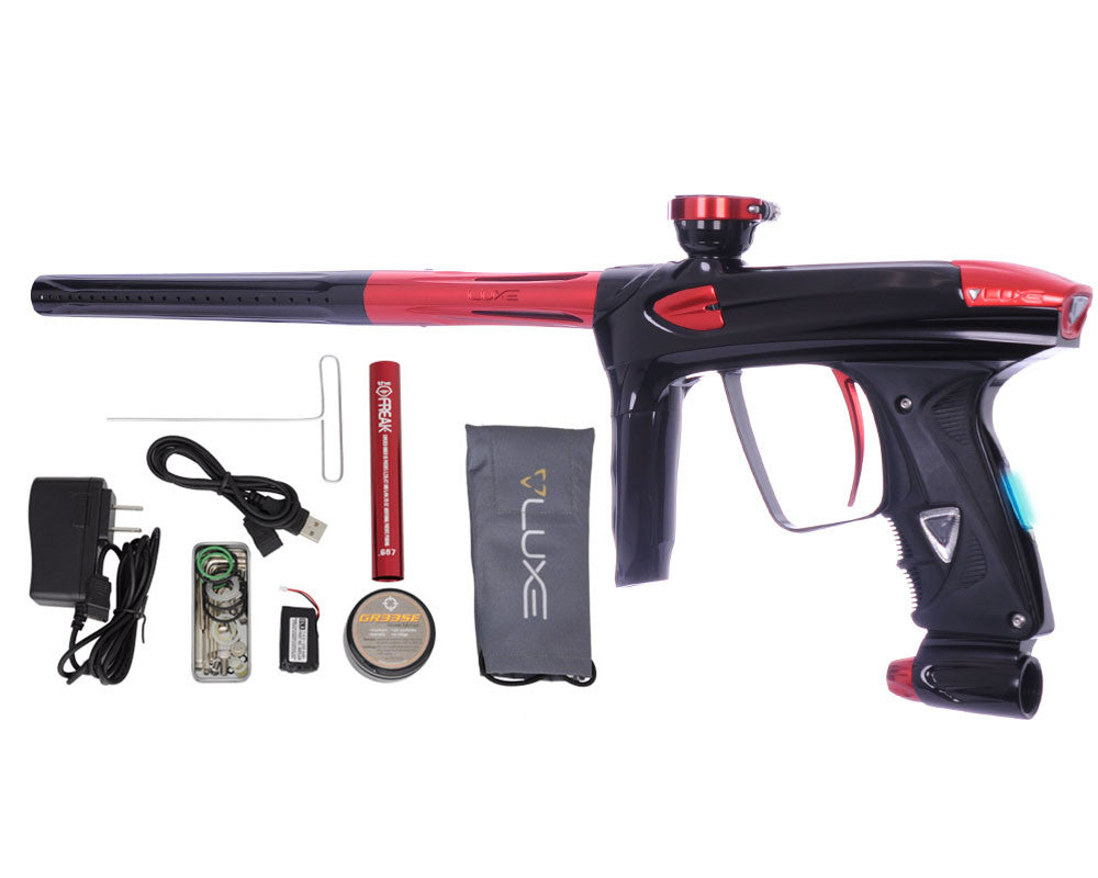 DLX Luxe 2.0 OLED Paintball Gun - Black/Red