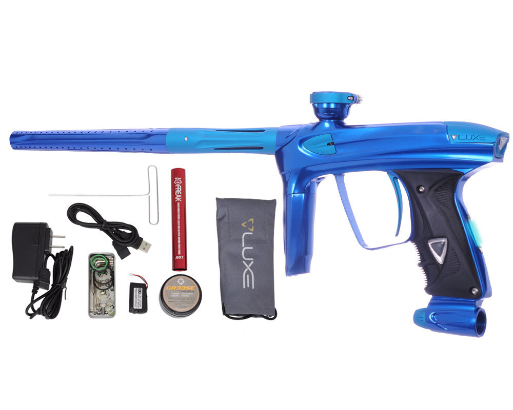 DLX Luxe 2.0 OLED Paintball Gun - Blue/Dust Teal