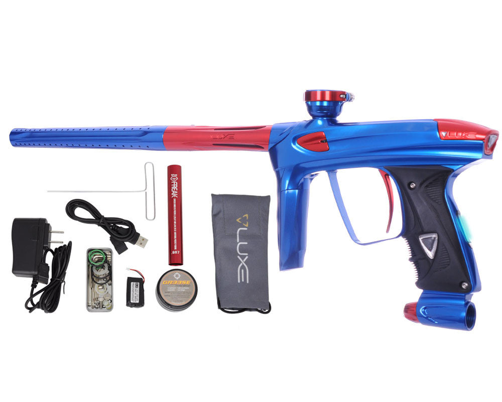 DLX Luxe 2.0 OLED Paintball Gun - Blue/Red