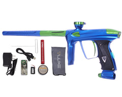 DLX Luxe 2.0 OLED Paintball Gun - Blue/Slime Green