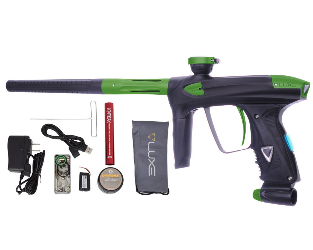 DLX Luxe 2.0 OLED Paintball Gun - Dust Black/Dust Slime Green