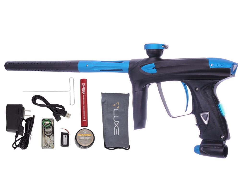 DLX Luxe 2.0 OLED Paintball Gun - Dust Black/Dust Teal