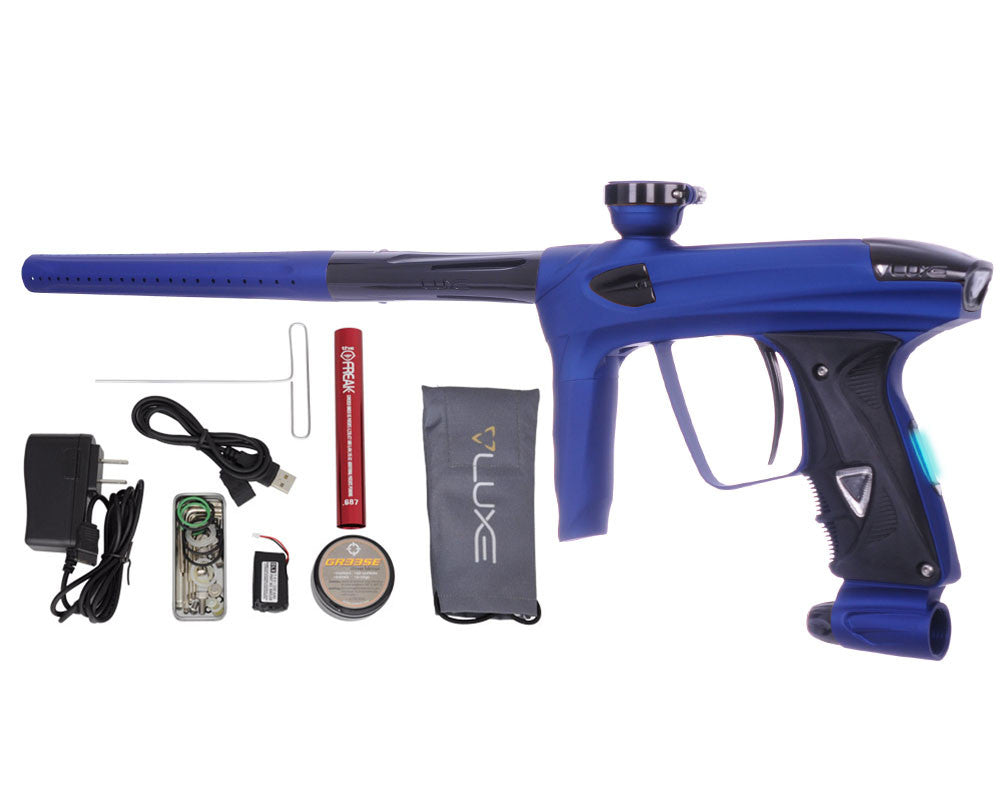 DLX Luxe 2.0 OLED Paintball Gun - Dust Blue/Black