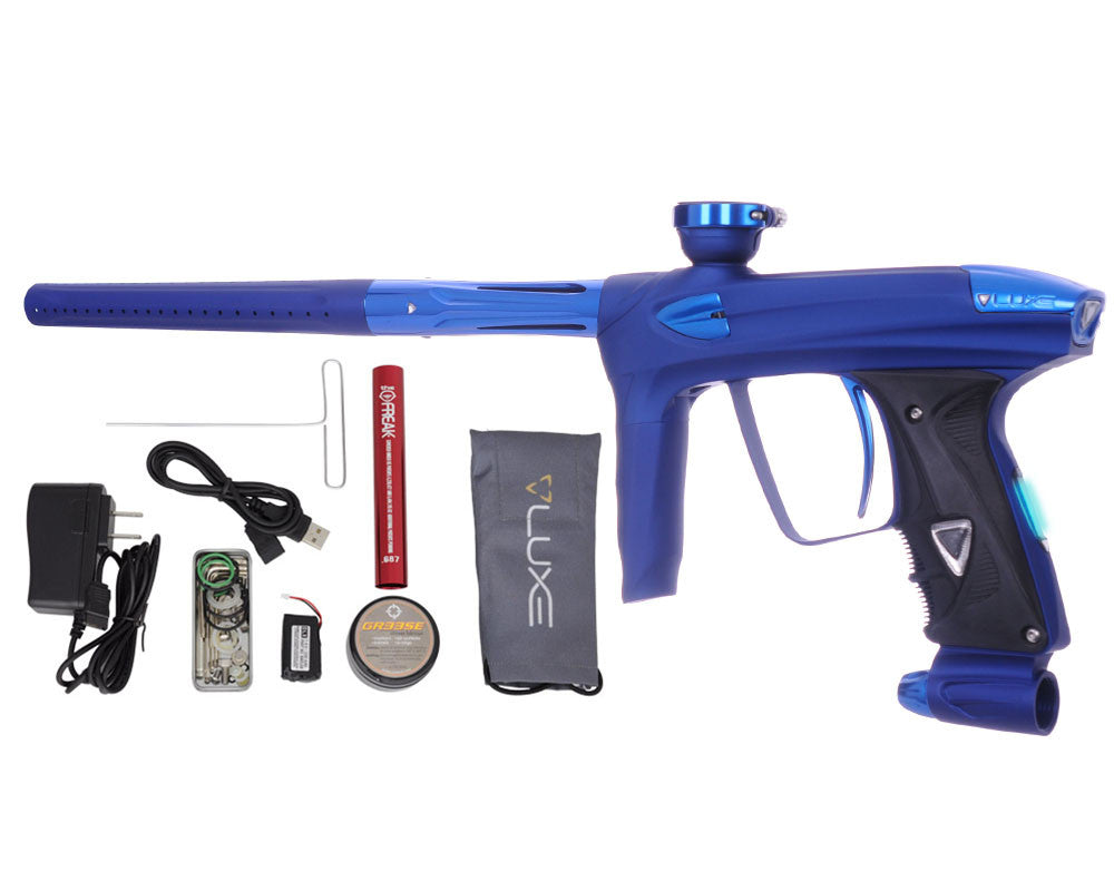 DLX Luxe 2.0 OLED Paintball Gun - Dust Blue/Blue