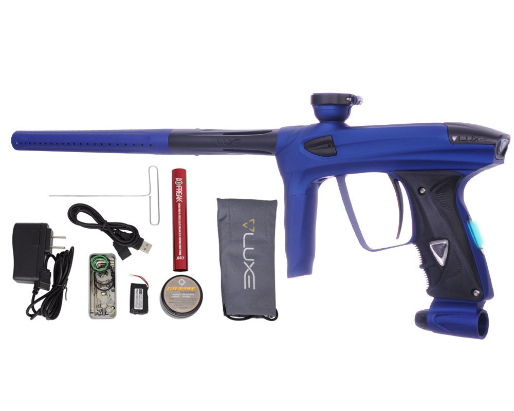 DLX Luxe 2.0 OLED Paintball Gun - Dust Blue/Dust Black