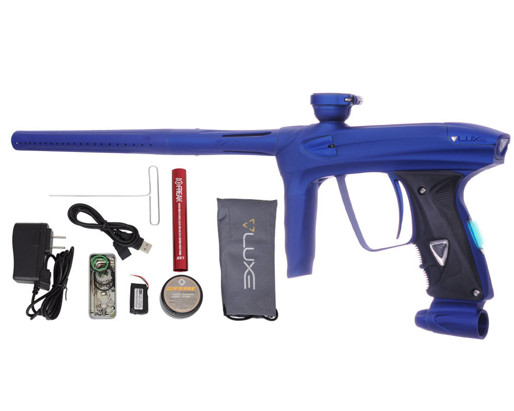 DLX Luxe 2.0 OLED Paintball Gun - Dust Blue/Dust Blue
