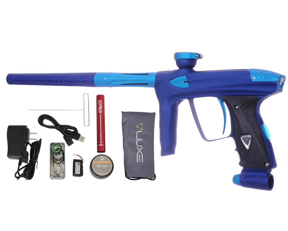 DLX Luxe 2.0 OLED Paintball Gun - Dust Blue/Dust Teal