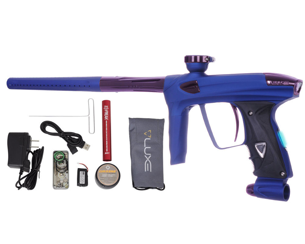 DLX Luxe 2.0 OLED Paintball Gun - Dust Blue/Eggplant