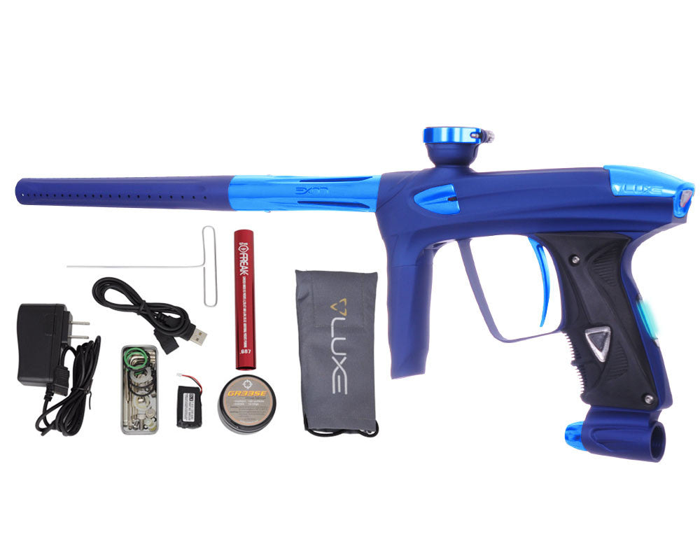 DLX Luxe 2.0 OLED Paintball Gun - Dust Blue/Teal