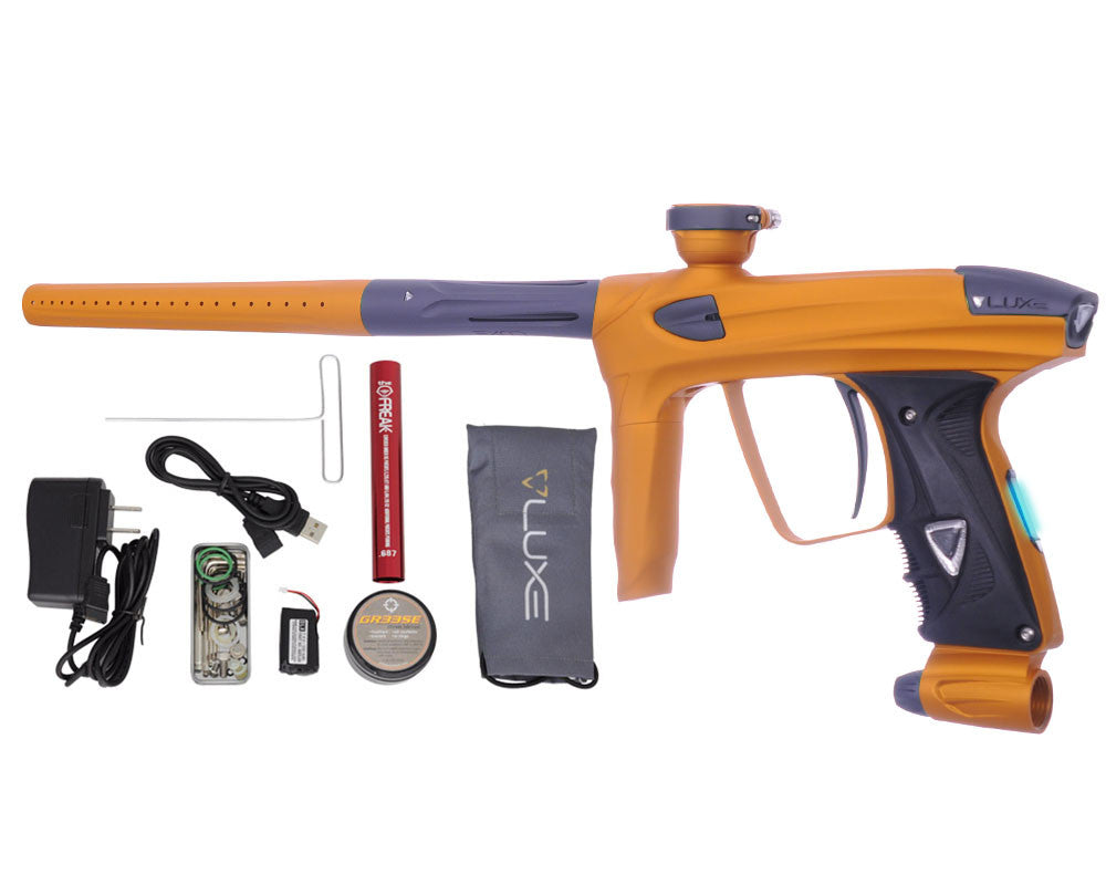 DLX Luxe 2.0 OLED Paintball Gun - Dust Gold/Dust Titanium