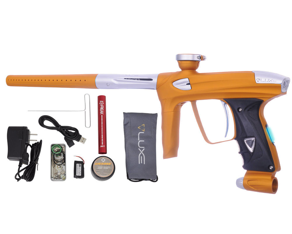 DLX Luxe 2.0 OLED Paintball Gun - Dust Gold/Dust White