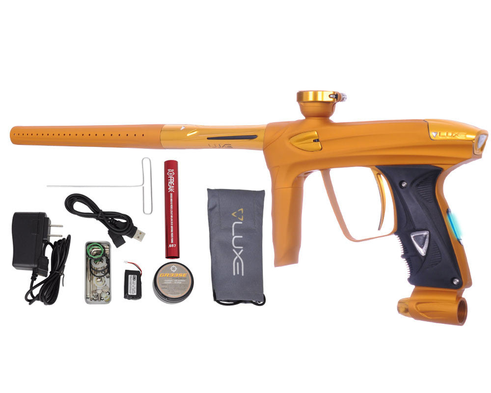 DLX Luxe 2.0 OLED Paintball Gun - Dust Gold/Gold