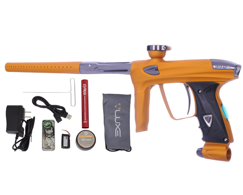 DLX Luxe 2.0 OLED Paintball Gun - Dust Gold/Titanium