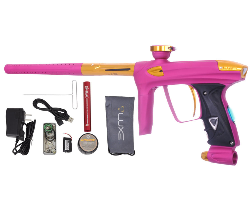 DLX Luxe 2.0 OLED Paintball Gun - Dust Pink/Gold