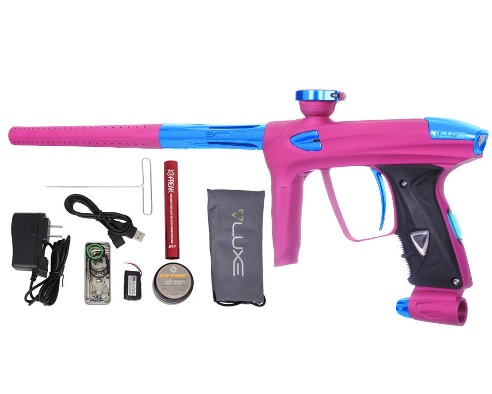 DLX Luxe 2.0 OLED Paintball Gun - Dust Pink/Teal