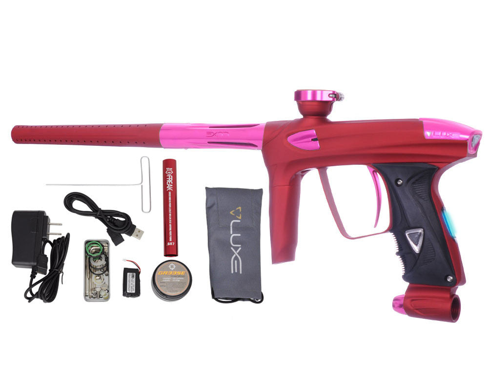 DLX Luxe 2.0 OLED Paintball Gun - Dust Red/Pink