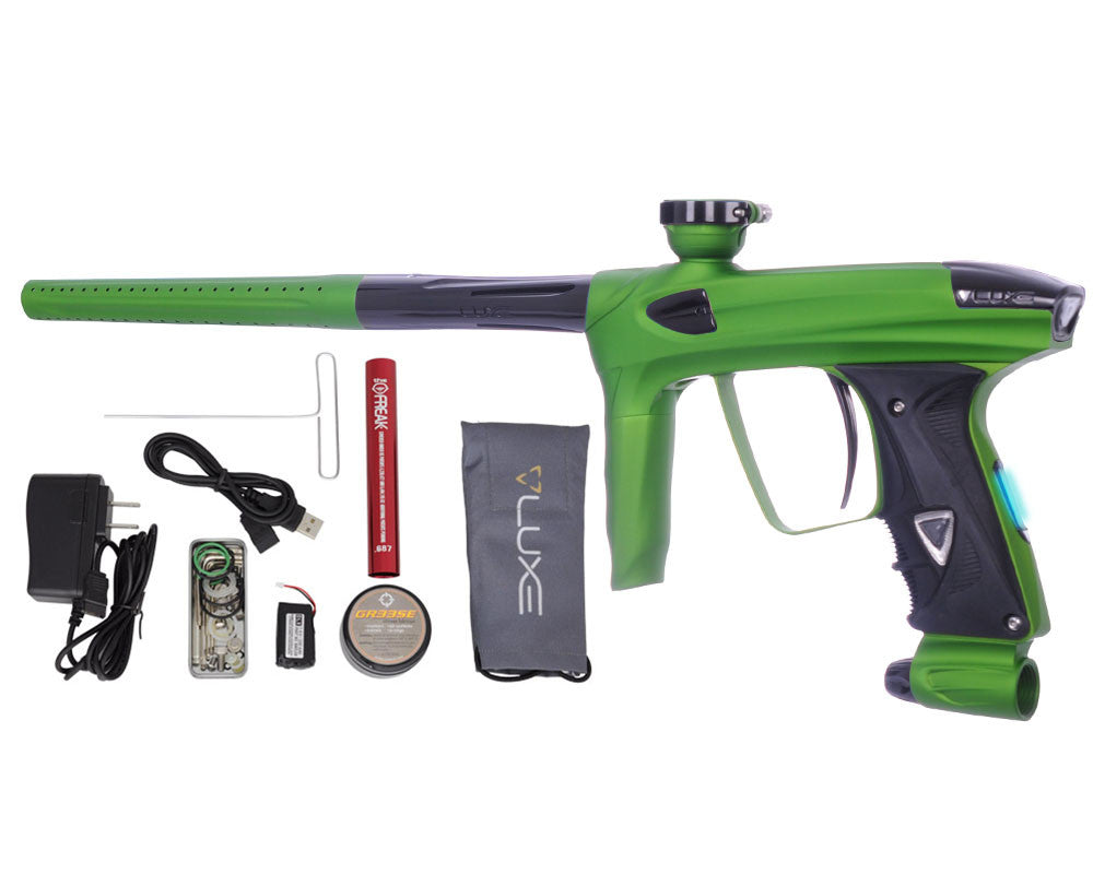 DLX Luxe 2.0 OLED Paintball Gun - Dust Slime Green/Black