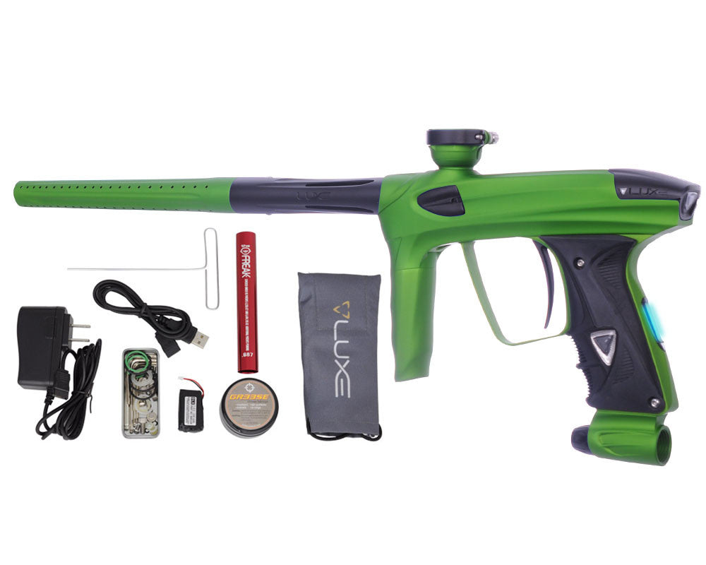 DLX Luxe 2.0 OLED Paintball Gun - Dust Slime Green/Dust Black