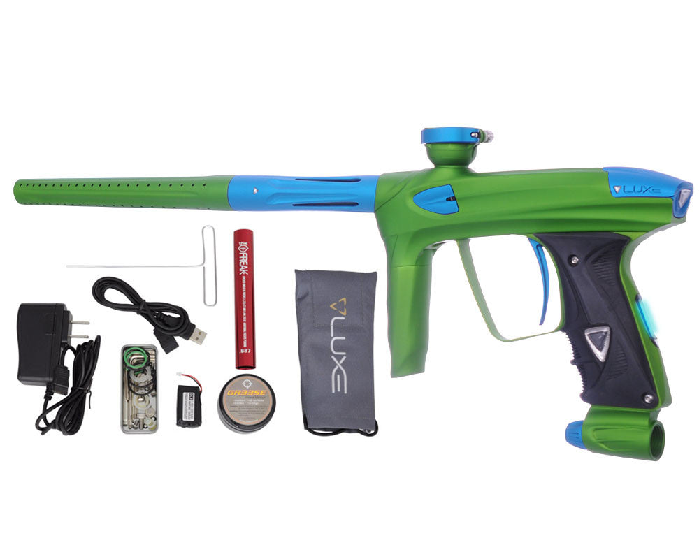 DLX Luxe 2.0 OLED Paintball Gun - Dust Slime Green/Dust Teal