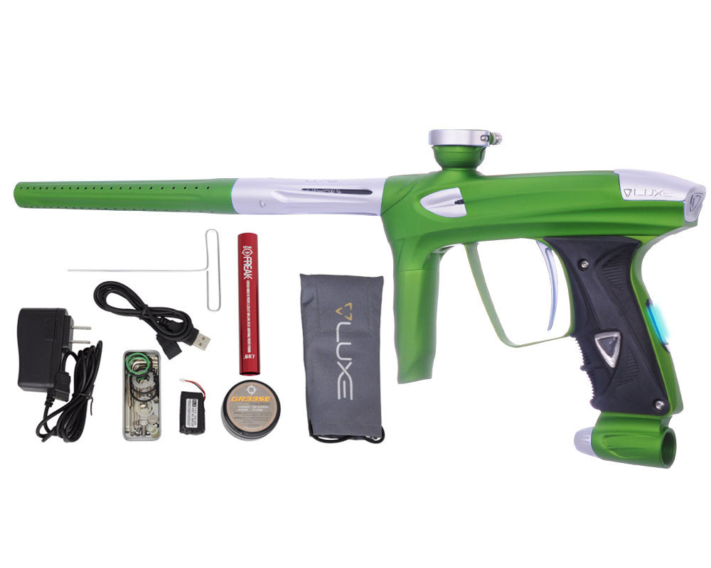 DLX Luxe 2.0 OLED Paintball Gun - Dust Slime Green/Dust White