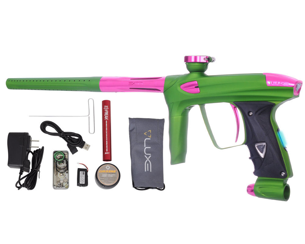 DLX Luxe 2.0 OLED Paintball Gun - Dust Slime Green/Pink