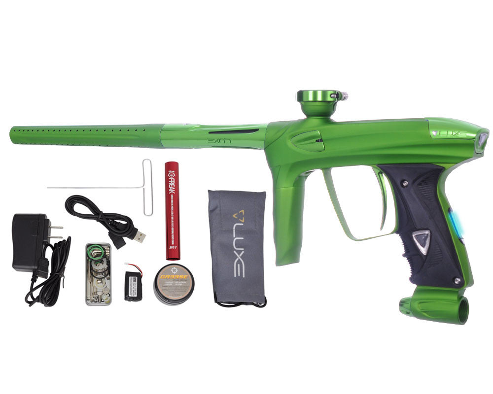 DLX Luxe 2.0 OLED Paintball Gun - Dust Slime Green/Slime Green