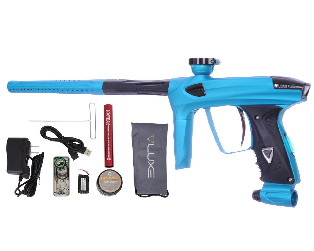 DLX Luxe 2.0 OLED Paintball Gun - Dust Teal/Black