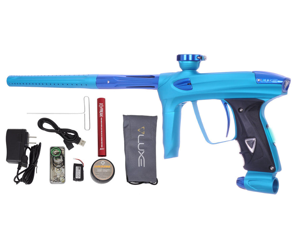 DLX Luxe 2.0 OLED Paintball Gun - Dust Teal/Blue