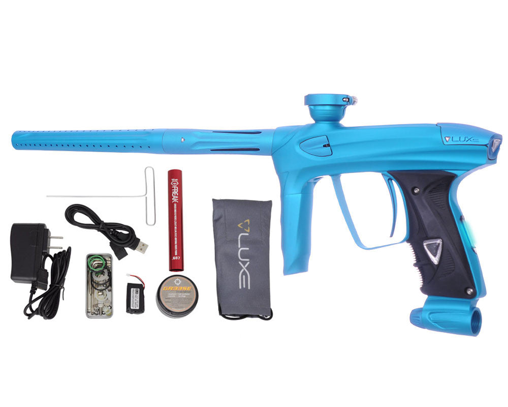 DLX Luxe 2.0 OLED Paintball Gun - Dust Teal/Dust Teal