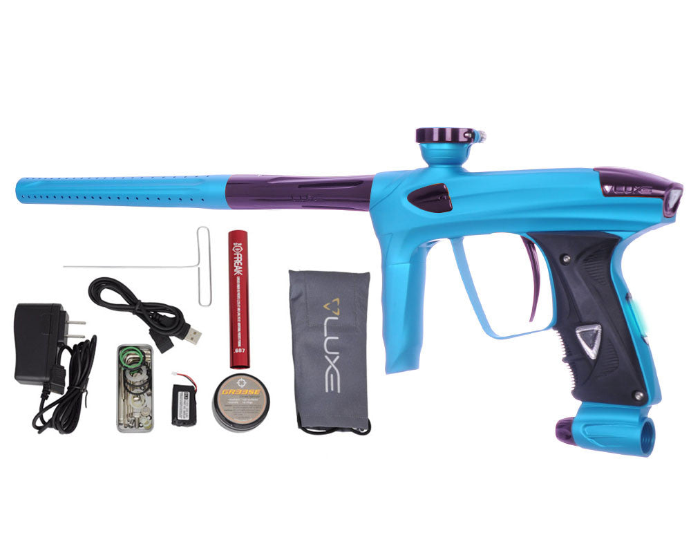 DLX Luxe 2.0 OLED Paintball Gun - Dust Teal/Eggplant