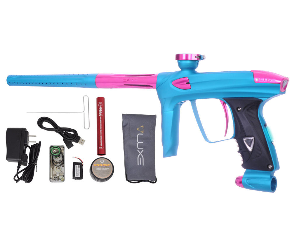 DLX Luxe 2.0 OLED Paintball Gun - Dust Teal/Pink