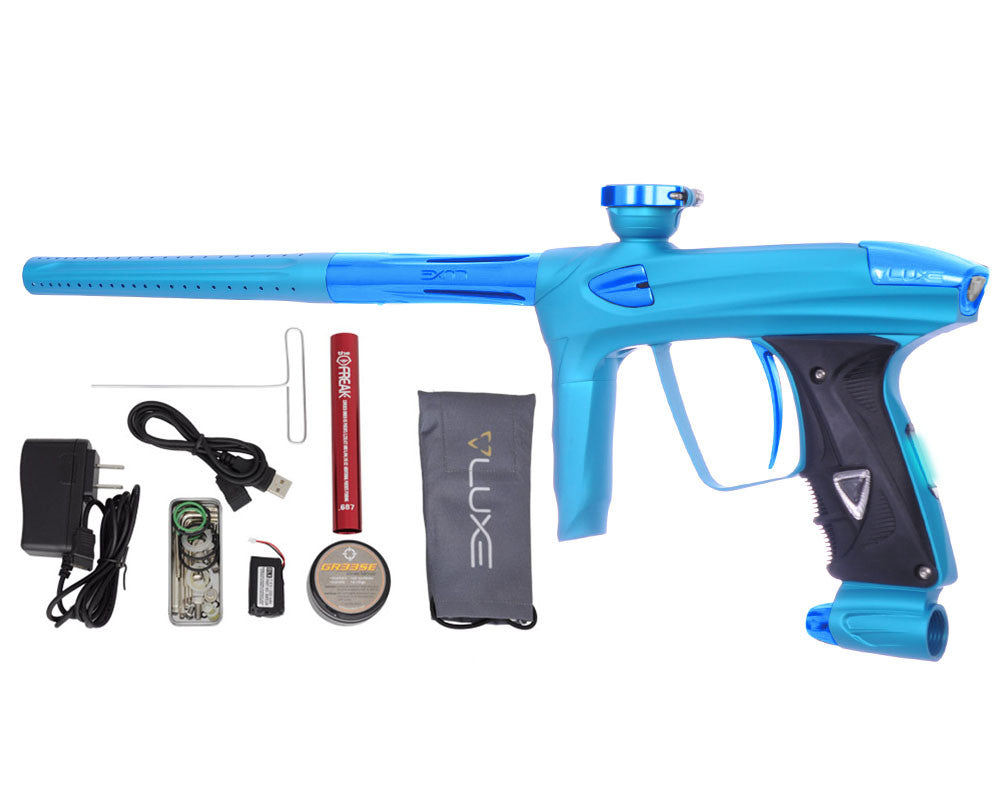 DLX Luxe 2.0 OLED Paintball Gun - Dust Teal/Teal