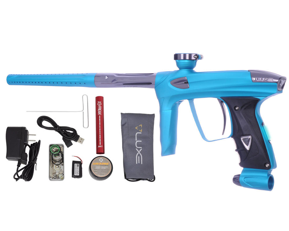 DLX Luxe 2.0 OLED Paintball Gun - Dust Teal/Titanium
