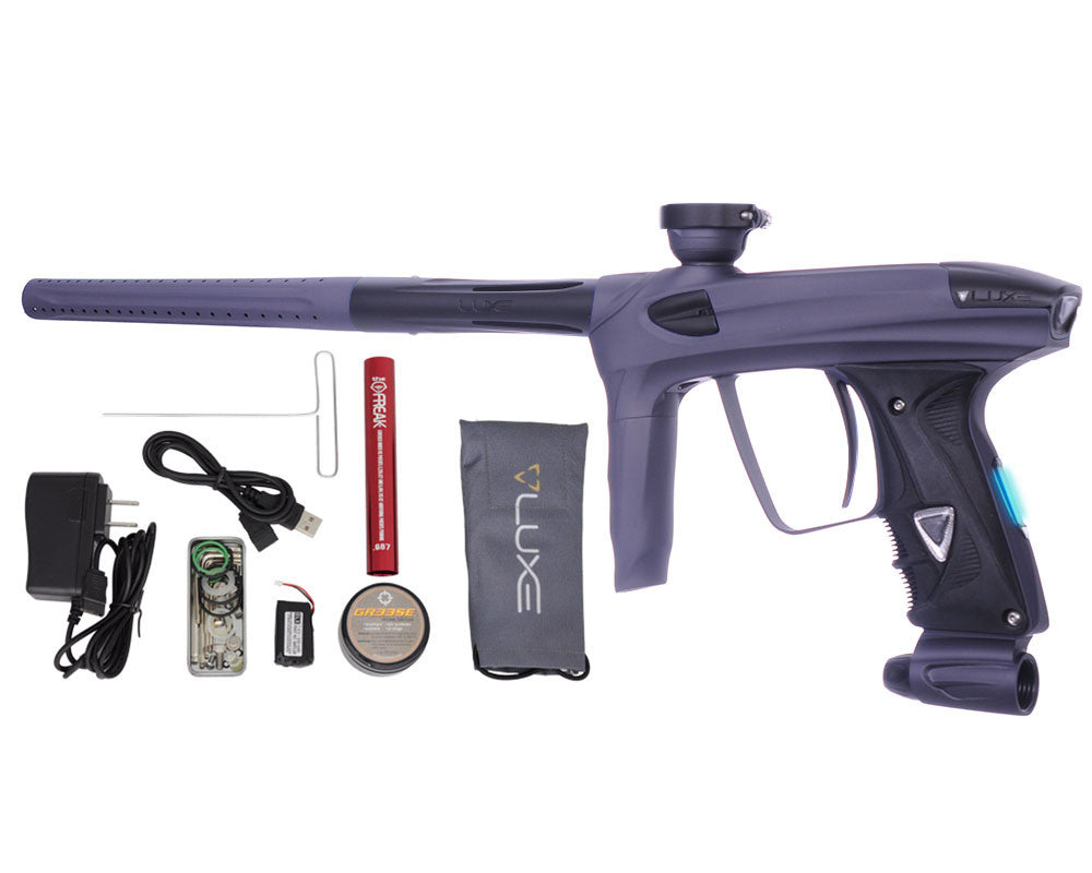 DLX Luxe 2.0 OLED Paintball Gun - Dust Titanium/Dust Black