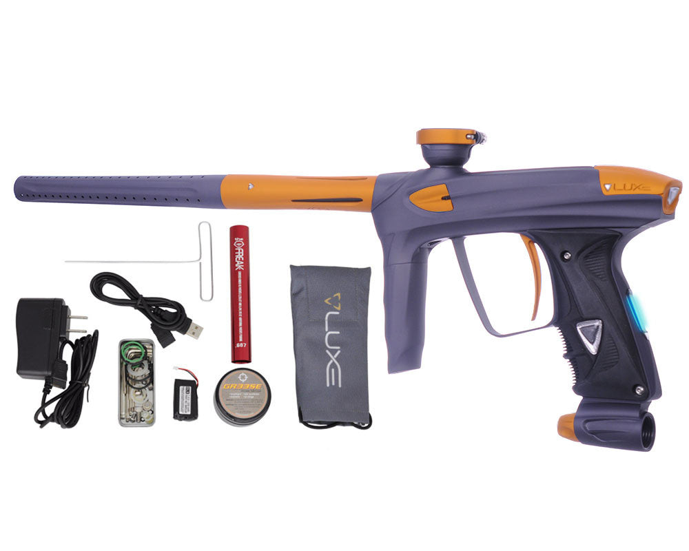 DLX Luxe 2.0 OLED Paintball Gun - Dust Titanium/Dust Gold