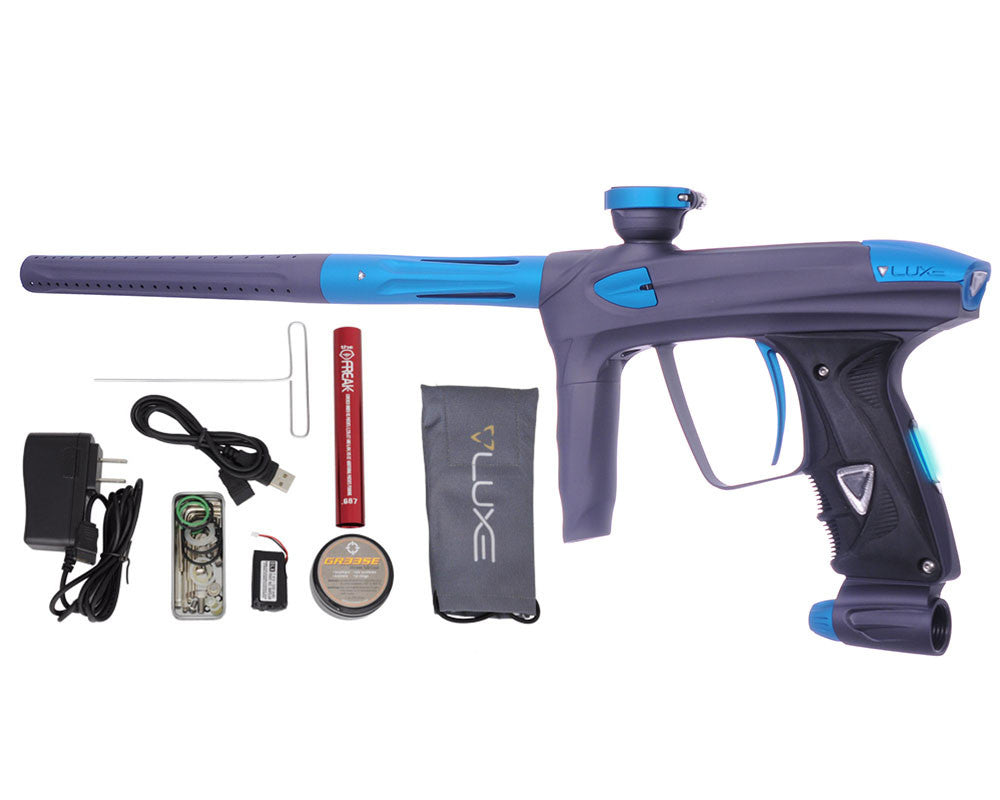 DLX Luxe 2.0 OLED Paintball Gun - Dust Titanium/Dust Teal