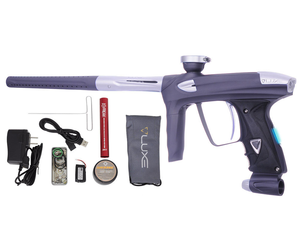 DLX Luxe 2.0 OLED Paintball Gun - Dust Titanium/Dust White