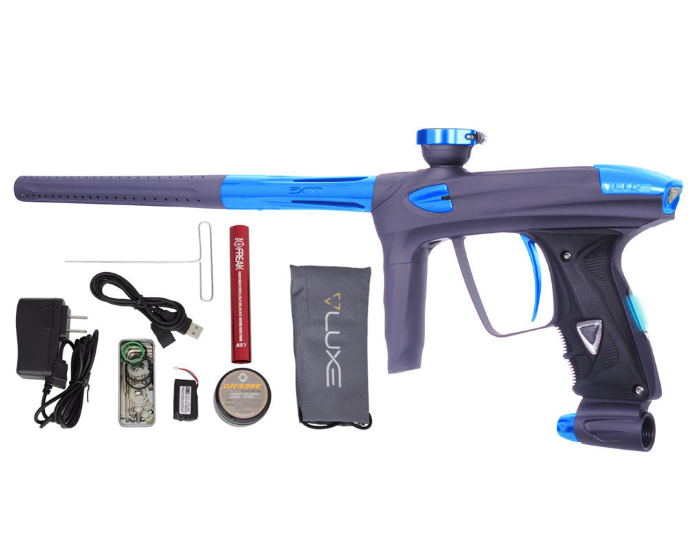 DLX Luxe 2.0 OLED Paintball Gun - Dust Titanium/Teal