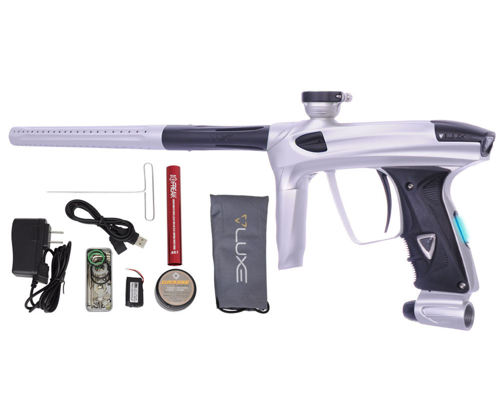 DLX Luxe 2.0 OLED Paintball Gun - Dust White/Dust Black